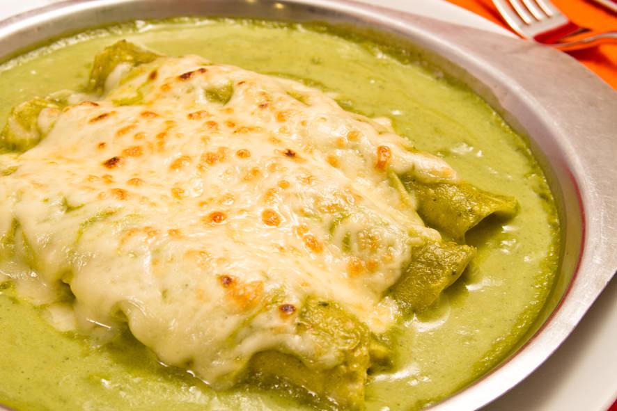 Enchiladas Verdes de Pollo Enchiladas Verdes de Pollo
