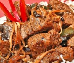 Filetitos de carne thai