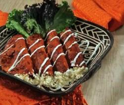 Enchiladas zacatecanas