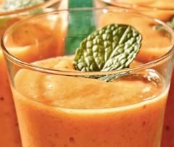 Licuado papaya-jengibre