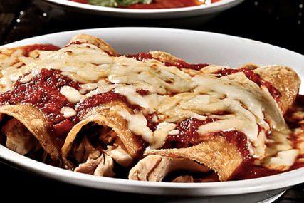 Receta enchiladas de pavo