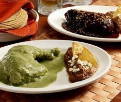 Mole verde de Michoacán