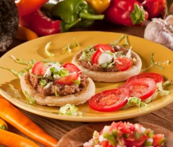 Sopes, receta mexicana