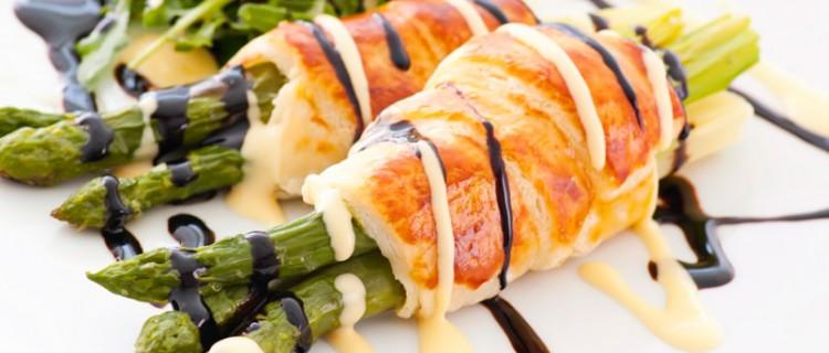 Pollo con espárragos: recetas para diabéticos