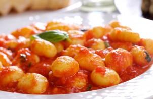 Ñoquis con salsa roja: Recetas para diabéticos