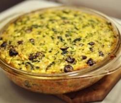 Tarta de arroz y espinacas: recetas para diabéticos