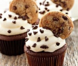 Cupcakes de Chocolate y Galletas