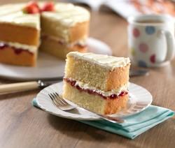 Torta o Pastel esponjosa para diabéticos
