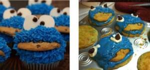 Cupcake Come galletas