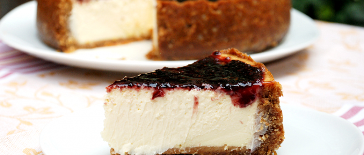 Cheesecake estilo New York