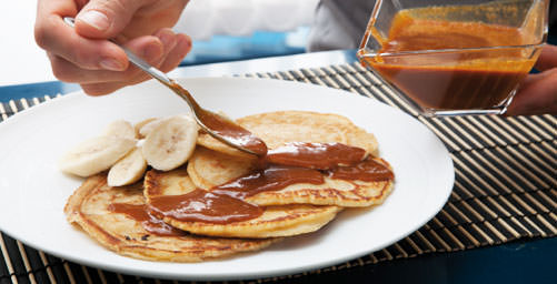 Tortitas con Toffee