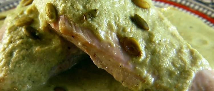 Receta original de mole verde