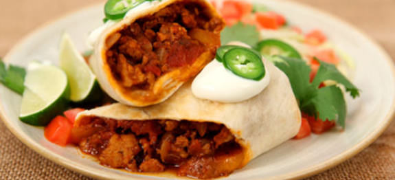Recetas de burritos mexicanos 3