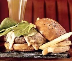 Hudson burger