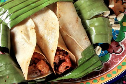 Tacos sudados