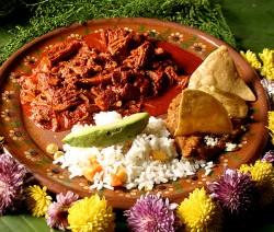 Tatemado de puerco, receta mexicana