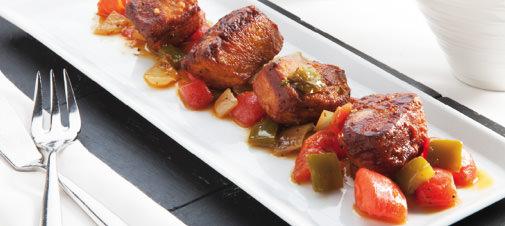 Bonito con Tomate y Soja
